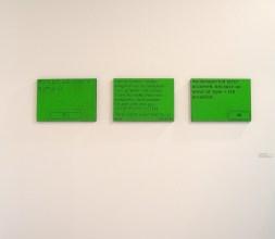 Unexpected error / 36x51cm ea. / acrylique sur bois - acrylic on wood panels