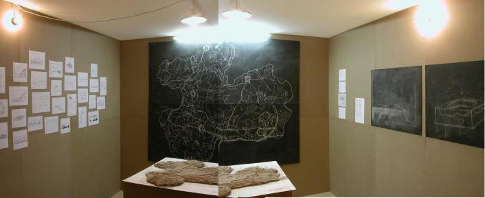 Ennis ob sini / 2003 / 250x250x200cm / installation - mixed media