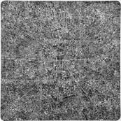 Les villes continues #12 BRL - The continuous cities #12 BRL / 150x150cm / 2010