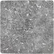 Les villes continues #11 LDN - The continuous cities #11 LDN / 150x150cm / 2009