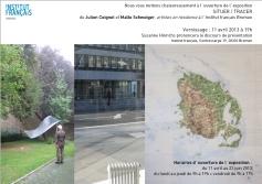 Situer Tracer / Exhibition Julien Coignet & Malte Schweiger / 2013 / Institut Français Bremen, Germany