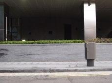 Messages (please join us) / acrylique sur papier, installation dans le quartier d'eulgiro, Seoul - acrylic on paper, street installation in Eulgiro, Seoul