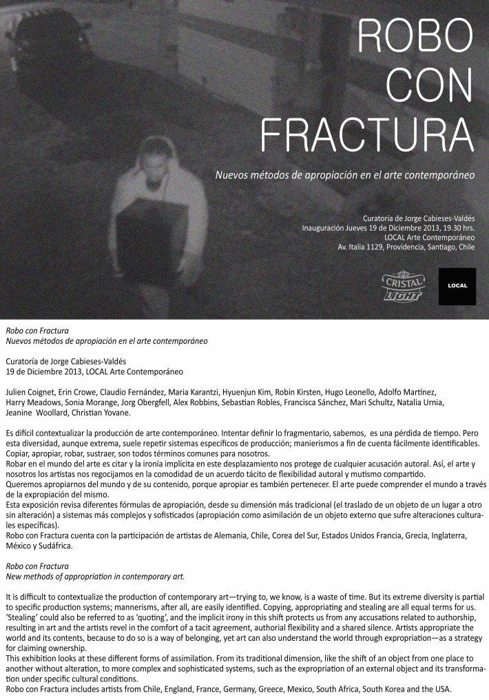 Robo con Fractura Invite-text