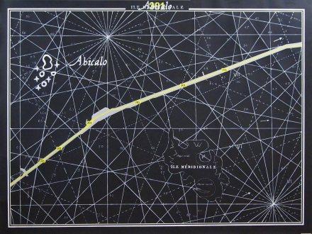 Superposition #5 ( 301 – Abicalo – Ile Méridionale ) / 2014 / 150x200cm / acrylique sur papier – acrylic painting on paper