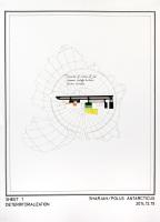 Deterritorialization (sheet 1) / 50x70cm / 2014 / drawing on paper – dessin sur papier